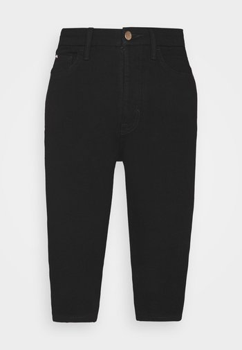 MAGIC - Denim shorts - black denim