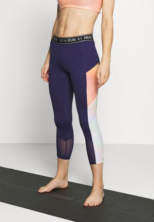 CAPRI SHINE - Leggings - astral aura