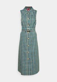 kate spade new york - PLAID DRESS - Shirt dress - blue glow - 3