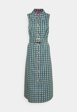 PLAID DRESS - Shirt dress - blue glow