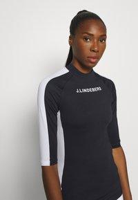 J.LINDEBERG - MARGOT SOFT COMPRESSION - Sports shirt - navy - 4