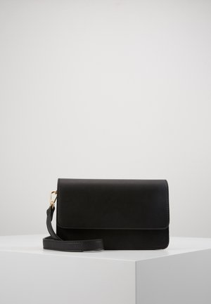 PCCORA CROSS BODY - Umhängetasche - black/gold-coloured