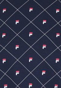 Fila - INTERLOCK ROUNDNECK - Pyjamas - navy - 6