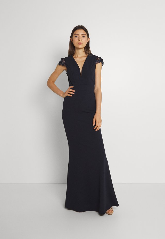 SAMMY MAXI DRESS - Iltapuku - navy blue