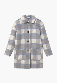 Grunt - BOUCLE - Zimní kabát - blue check - 0