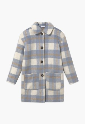 BOUCLE - Classic coat - blue check