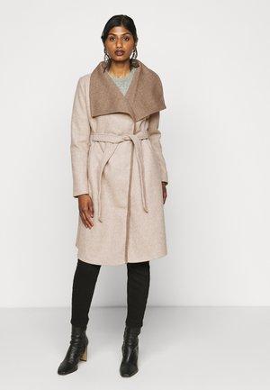 VIBIAS COAT - Classic coat - natural melange