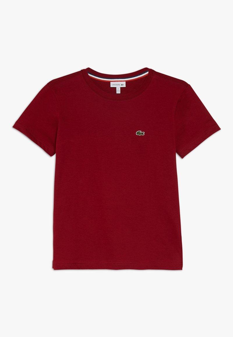 Lacoste - TURTLE NECK - Basic T-shirt - bordeaux