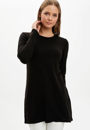 Strickpullover - black