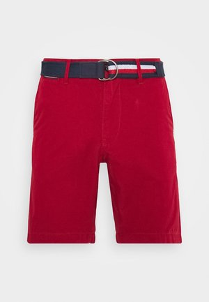 BROOKLYN LIGHT BELT - Szorty - red