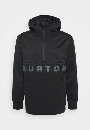 CROWN - Soft shell jacket - true black