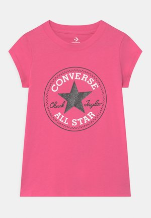 CHUCK PATCH  - Print T-shirt - mod pink
