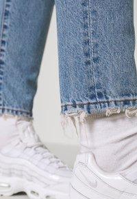 Dr.Denim - NORA - Straight leg jeans - blue jay worn hem - 3