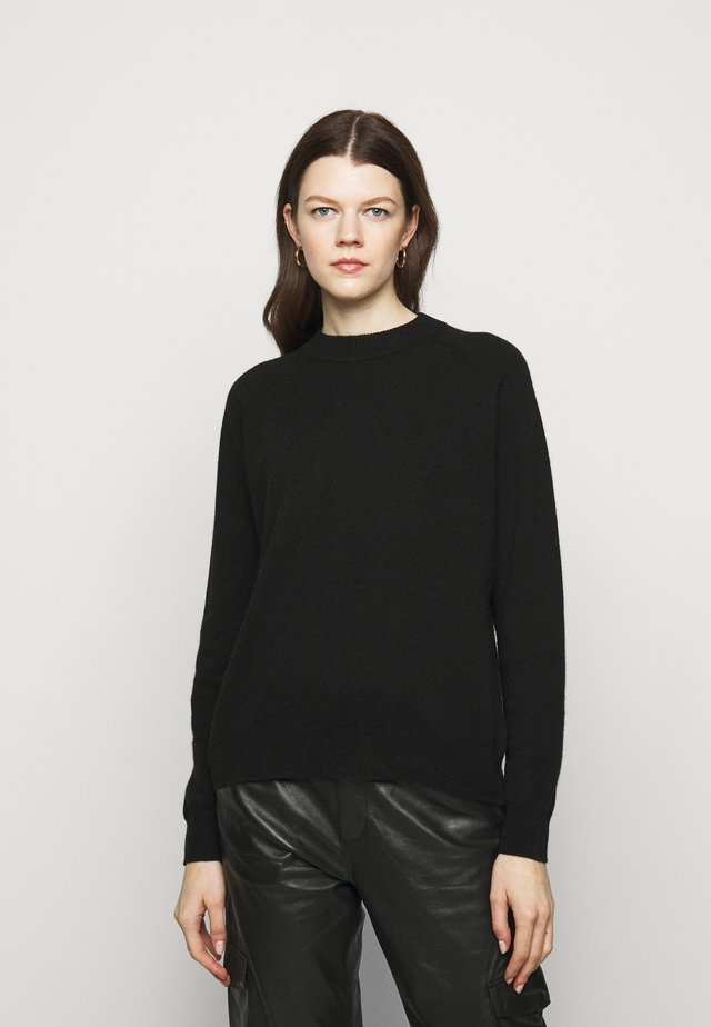 SEINE - Jersey de punto - black