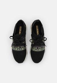 Napapijri - LEAF - Sneakers laag - black - 5