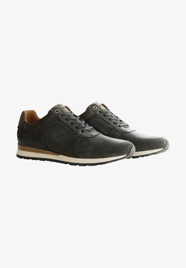 WELTON - Sneakers laag - dark grey/black