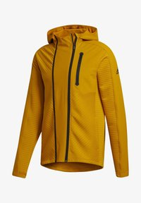 adidas Performance - TRAINING HOODED TRACKSUIT JACKET - Zip-up hoodie - leggld - 5