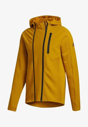 TRAINING HOODED TRACKSUIT JACKET - Huvtröja med dragkedja - leggld