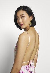 Bardot - TIE DYE SLIP DRESS - Maxi dress - purple - 3