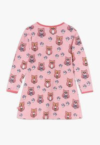 Småfolk - DRESS OWL - Jersey dress - sea pink - 1