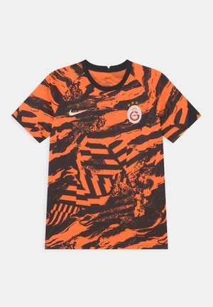 GALATASARAY ISTANBUL UNISEX - Club wear - total orange/black/white