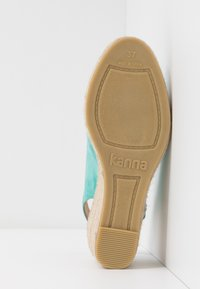 Kanna - ANIA - Espadrillot - turquoise - 6