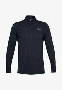 Under Armour - SEAMLESS 1/2 ZIP - Long sleeved top - black - 0