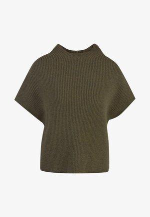 SLIPOVER - Jednoduché triko - military green