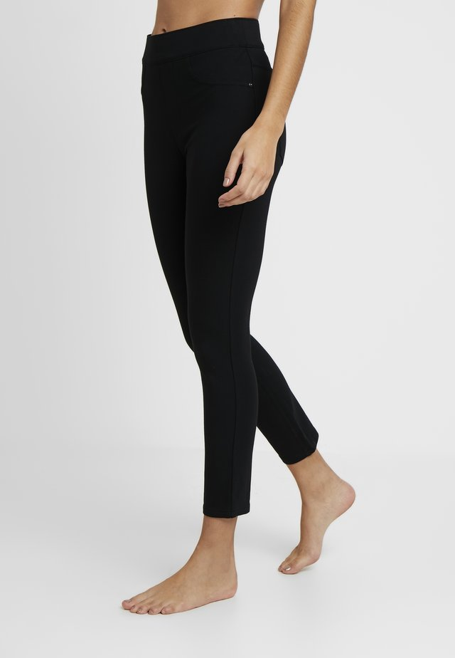 PONTE - Leggings - Strümpfe - very black