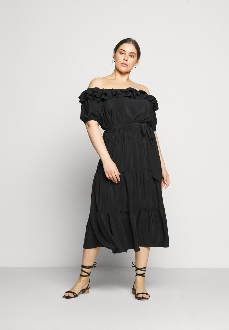 River Island Plus - Day dress - black