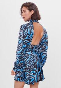 Bershka - Robe d'été - blue - 2