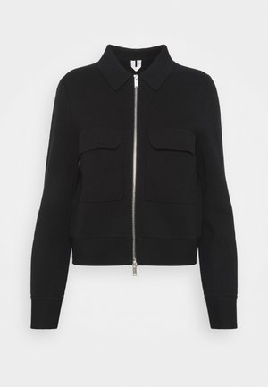 JACKET - Strickjacke - black dark