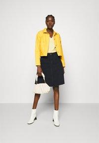 ALIGNE - CAMDEN - Denim jacket - yellow - 1