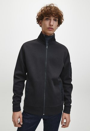 Zip-up hoodie - ck black