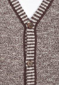 Solid - REGULAR FIT - Cardigan - brown - 3