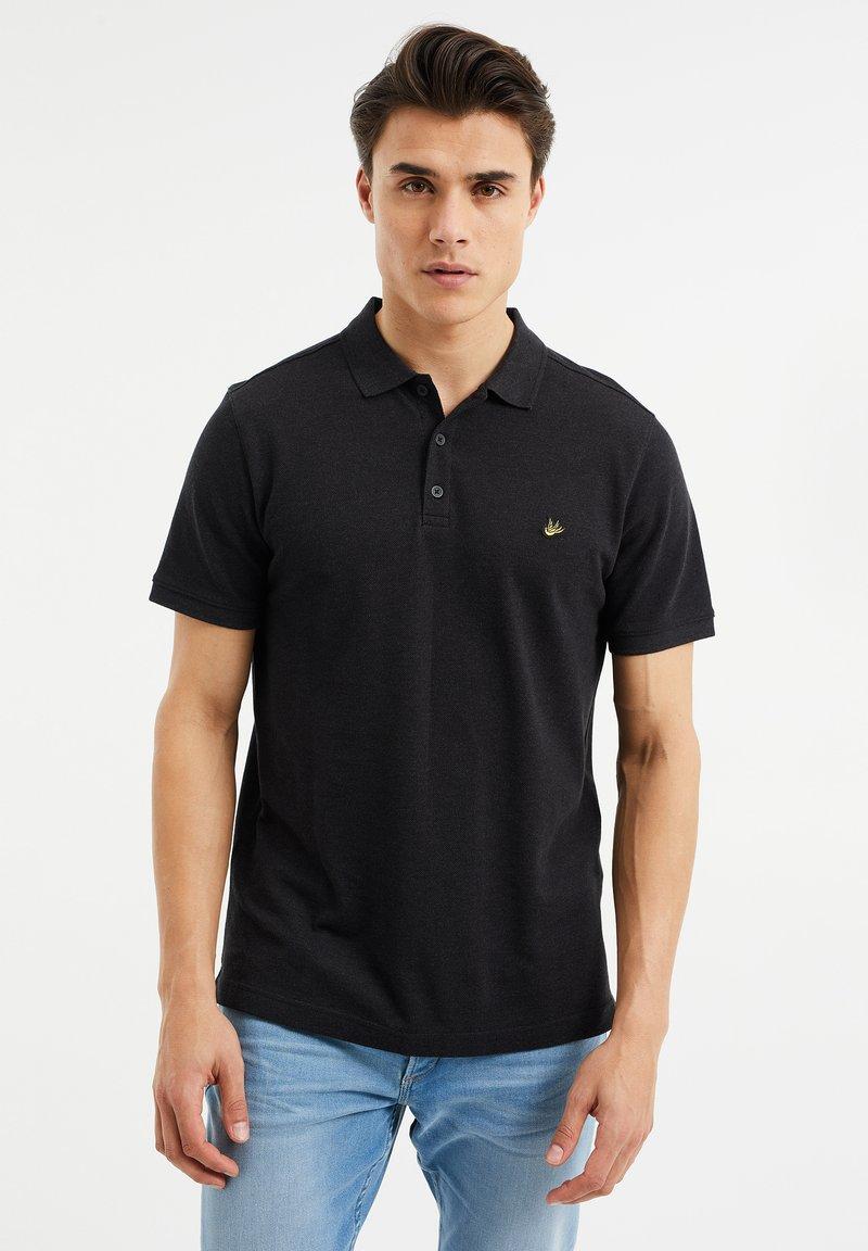 WE Fashion - Poloshirt - black