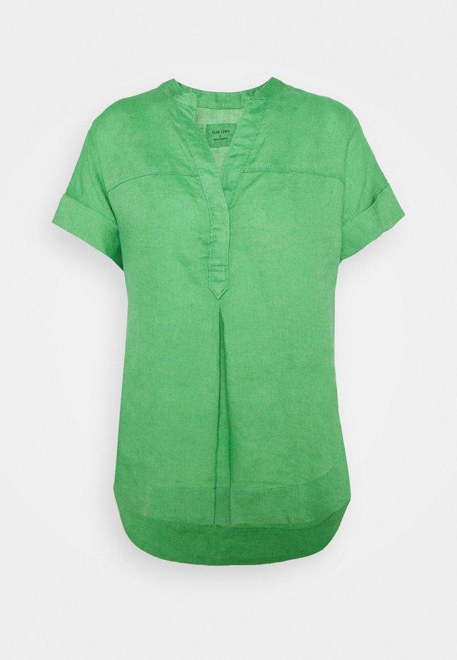 BLOUSE - T-shirt z nadrukiem - green
