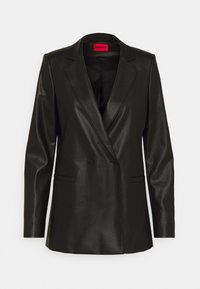 HUGO - ARIESA - Short coat - black - 3