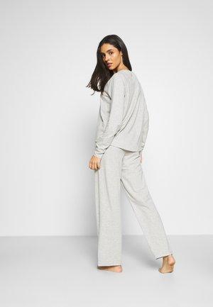 LONG PANT - Pyjamabroek - light heather grey