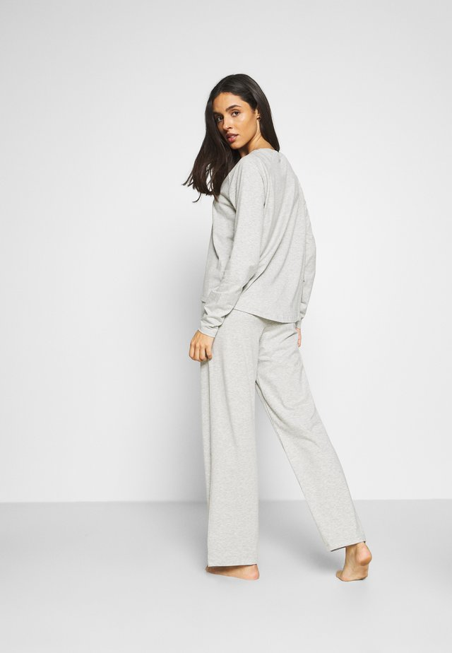 LONG PANT - Pyjamasbukse - light heather grey