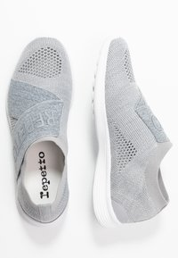 Repetto - Slip-ons - gris chiné clair - 3