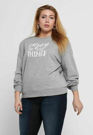 CARTHILDE ONECK  - Sweatshirt - light grey melange