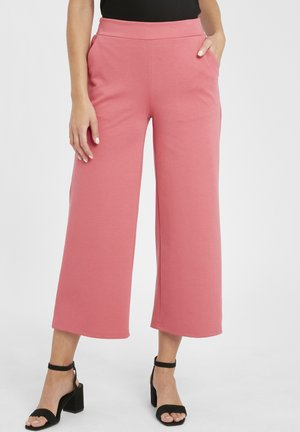 KATE WIDE - Trousers - baroque rose