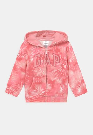 GIRL LOGO - Zip-up hoodie - pink