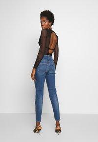 Diesel - D-SLANDY-HIGH - Jeans Skinny Fit - blue denim - 2