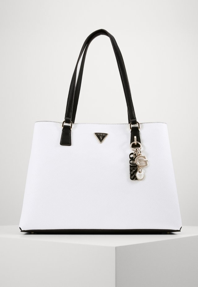 BECCA LUXURY SATCHEL - Shopper - white/multi