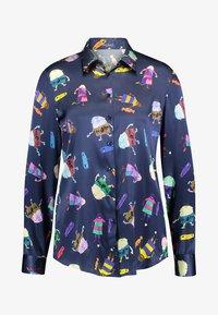 van Laack - CARRY - Button-down blouse - purple - 3