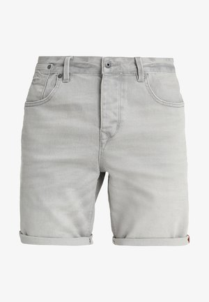 BIKER - Denim shorts - vista grey