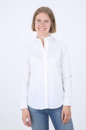 TILDA - Button-down blouse - white