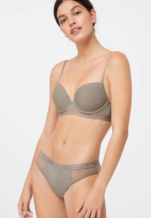 Push-up bra - khaki